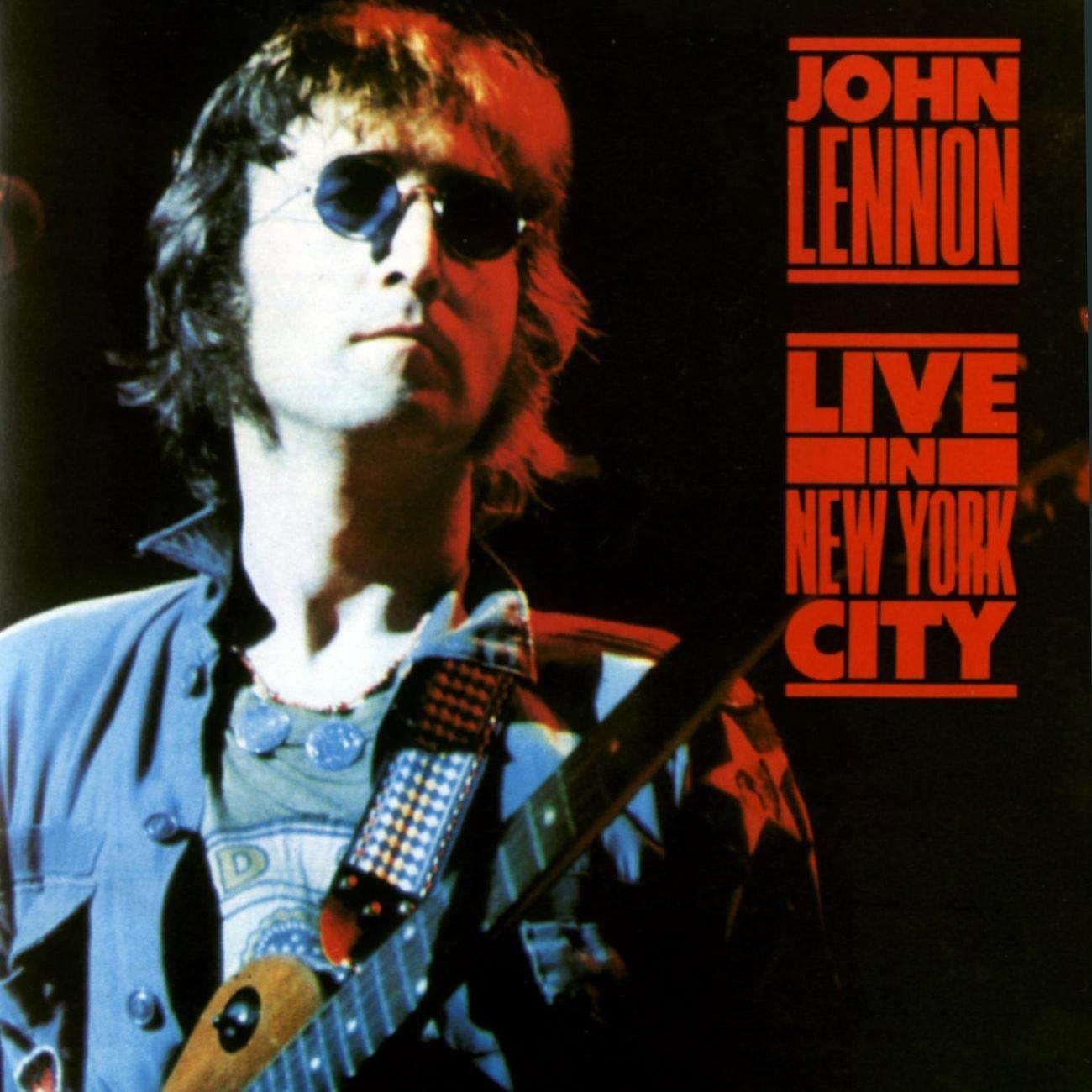 John Lennon - Live In New York City ( LP semi novo. Acompanha encarte )