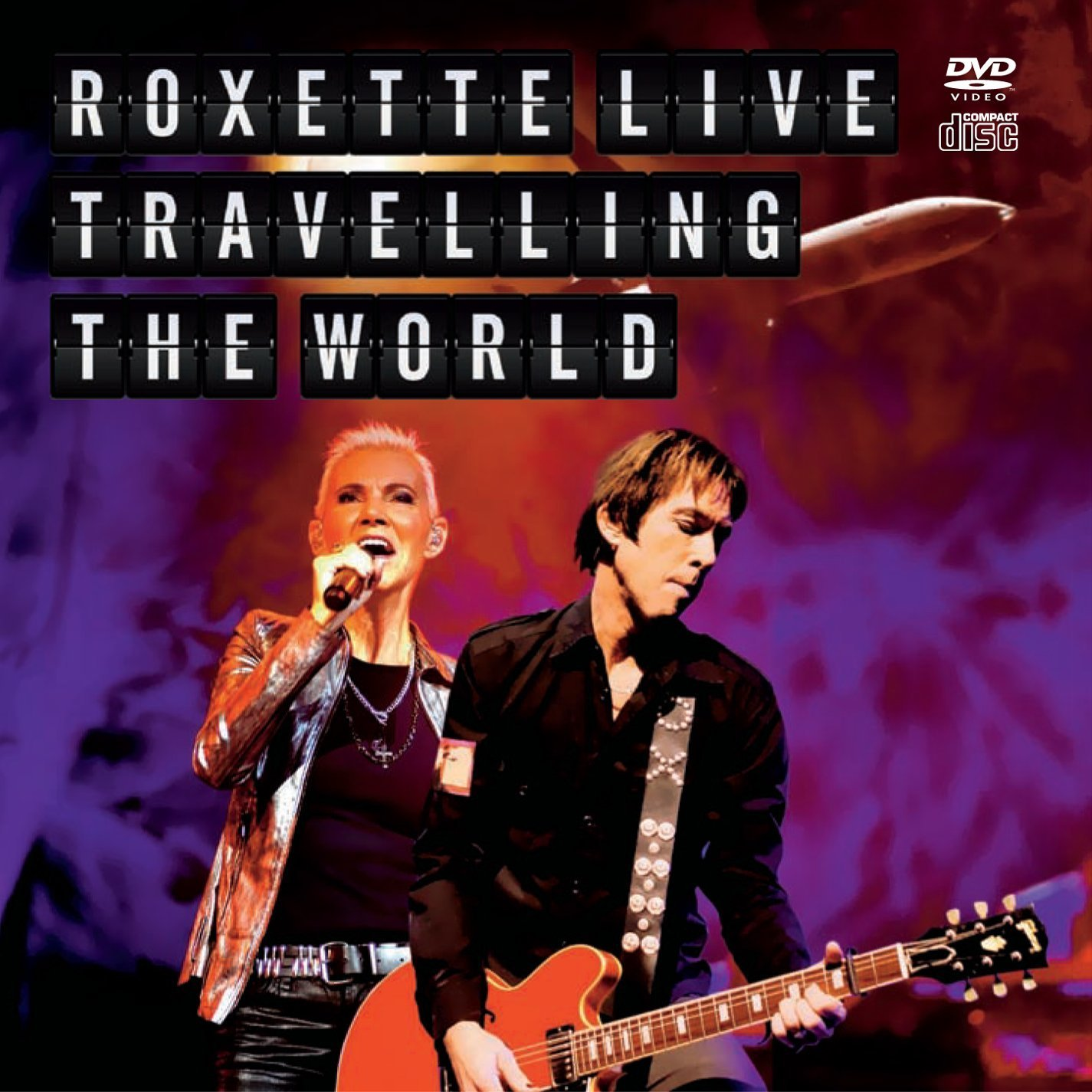 Roxette - Roxette Live Travelling the World ( CD+DVD )